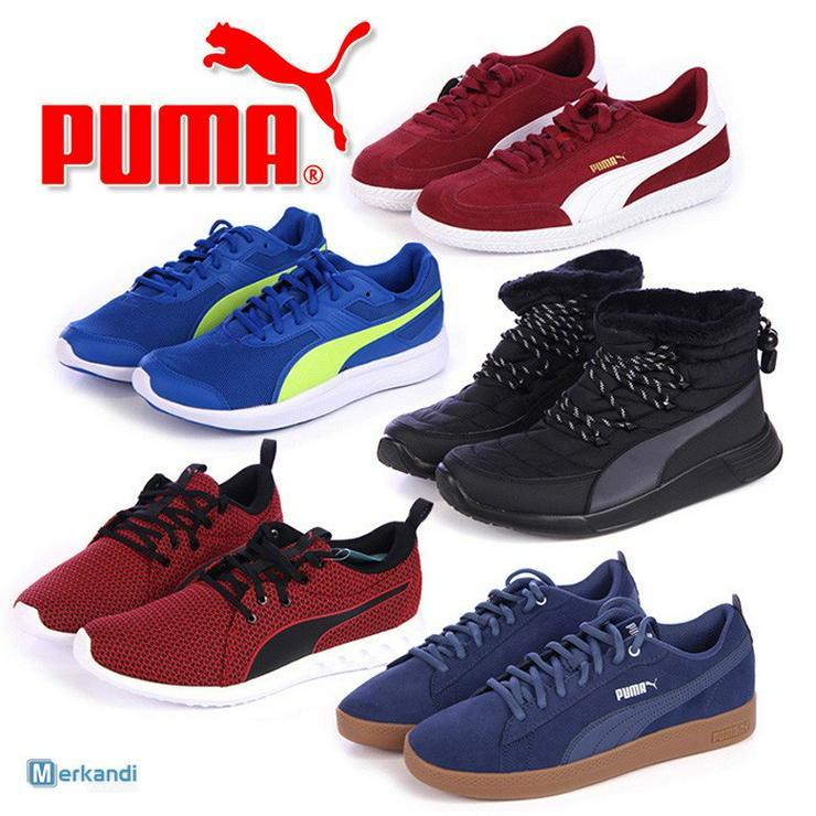 PUMA Sportschuhe für Damen und Herren Großhandel - Größe 42 - Bild 1
