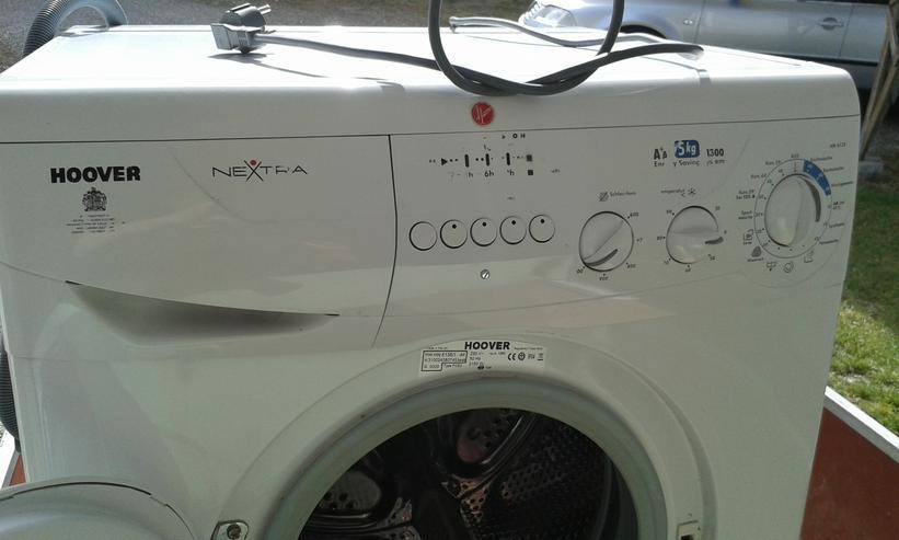 HOOVER Waschmaschine Schlachtfest da Lagerschaden , saubere Teile
