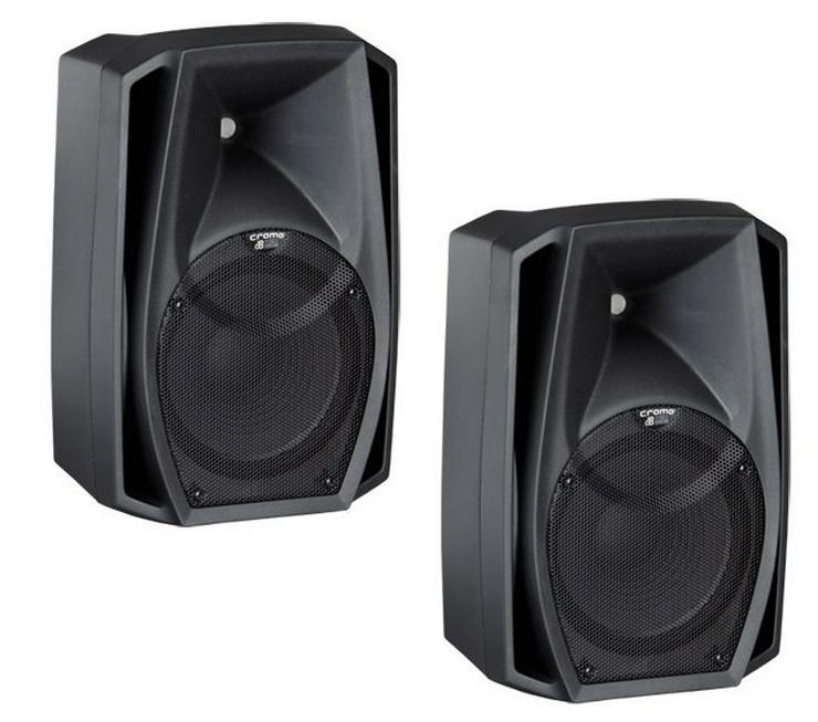 Verleih 2 x dB Cromo 15+ Aktivbox digital 600W I Lautsprecher