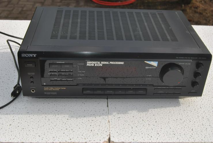 Sony STR-DE 405 Stereo / Dolby Surround Receiver mit Fernbedienung