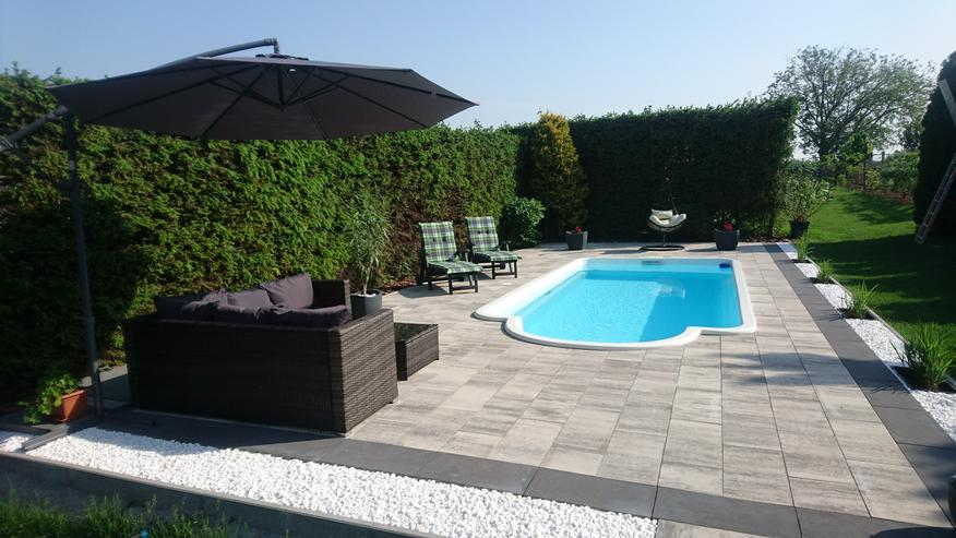 Pool Schwimmbad Schwimmbecken Gartenpool Gfk 7,00x3,00x1,50 - Pools - Bild 1