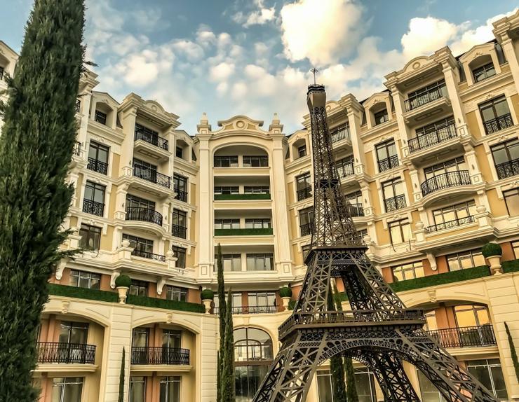 BIS 31.03 PROMO 1.Zim.Möblierte Wohnung ROMANCE PARIS 250М Strand