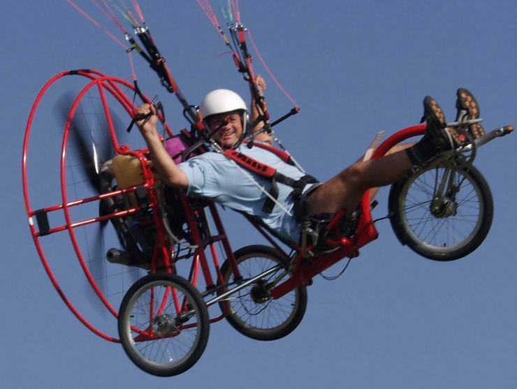 Fliegendes Fahrrad Flyke, von Fresh Breeze - Mountainbikes & Trekkingräder - Bild 1