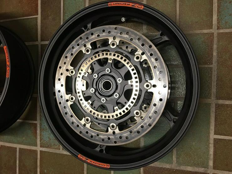Bild 6: OZ Aluminium Schmiede Felgen Piega R S1000RR K10