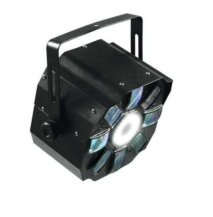Bild 4: Verleih LED Hybrid Flowereffekt Schweinwerfer Partylicht mieten
