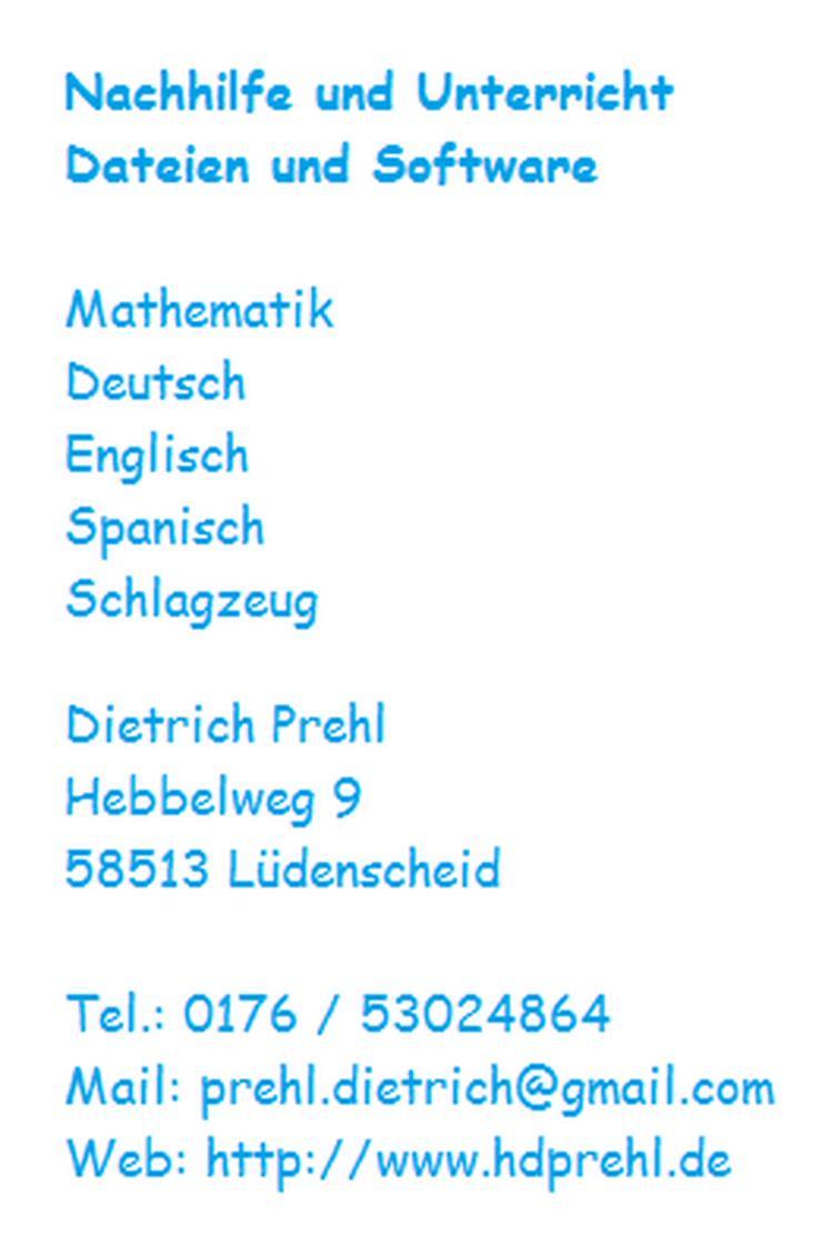Lernsoftware für die Schule (Mathematik) - Computer & EDV - Bild 1