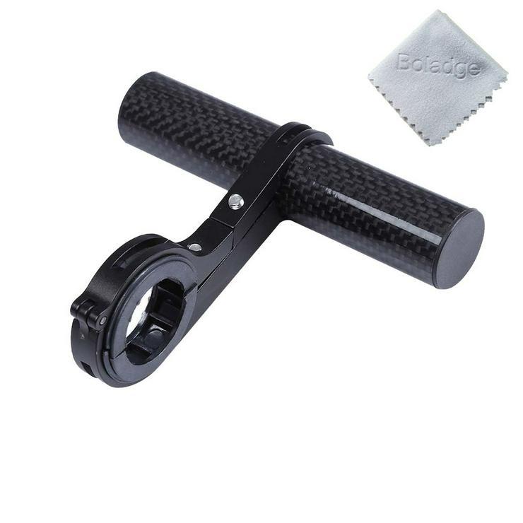 Fahrrad Lenker Halterung, zur Montage von Radbeleuchtung, Klingel, Tarro, Handyhalterung usw.