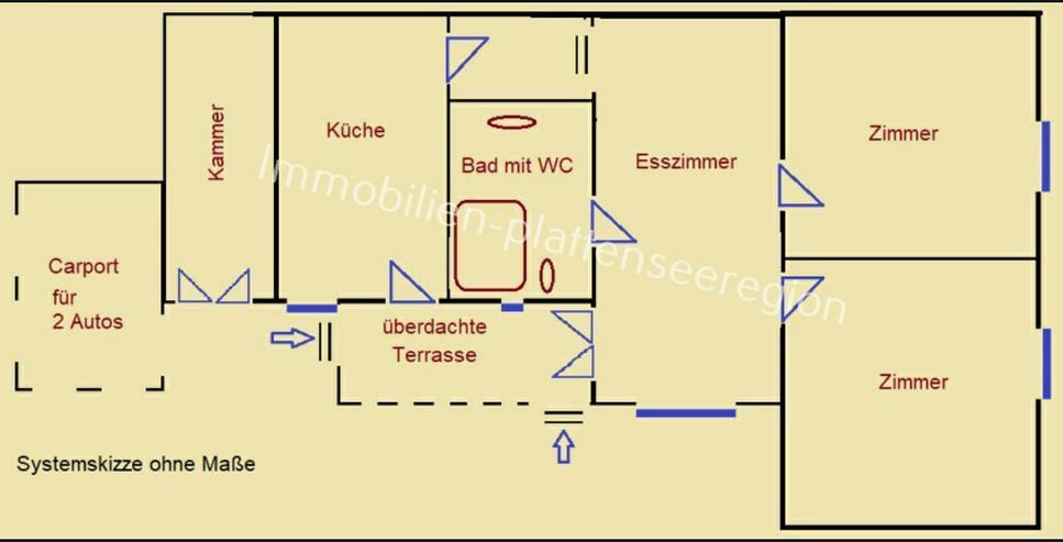 Bild 5: Wohnhaus Ungarn Balatonr. Grdst.2.081m ²Nr.20,132