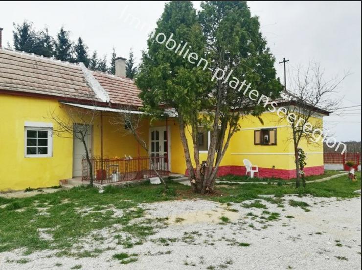 Wohnhaus Ungarn Balatonr. Grdst.2.081m ²Nr.20,132 - Haus kaufen - Bild 1