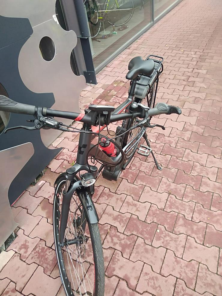 Bild 3: Cube Touring Hybrid 400 E-Bike Herrenrad Top-Zustand+Koffer/Tasch