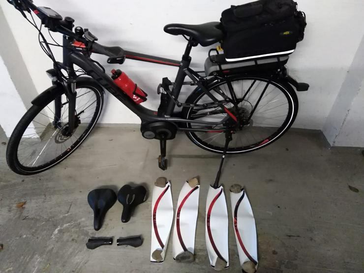 Bild 4: Cube Touring Hybrid 400 E-Bike Herrenrad Top-Zustand+Koffer/Tasch