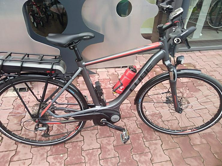 Bild 2: Cube Touring Hybrid 400 E-Bike Herrenrad Top-Zustand+Koffer/Tasch