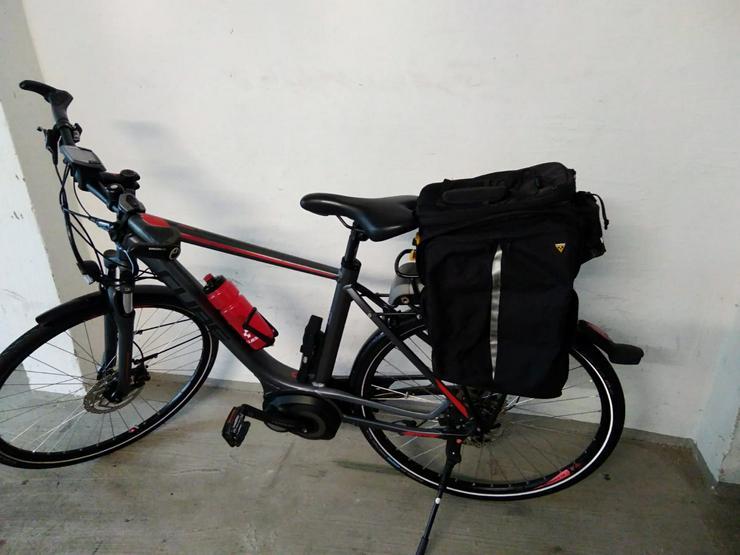 Bild 6: Cube Touring Hybrid 400 E-Bike Herrenrad Top-Zustand+Koffer/Tasch