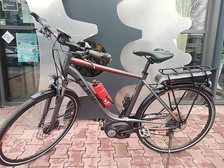 Cube Touring Hybrid 400 E-Bike Herrenrad Top-Zustand+Koffer/Tasch - Weitere - Bild 1