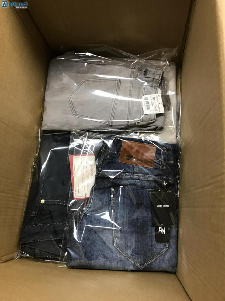 Markenbekleidung Restposten Mixpakete Adidas, Replay, Puma, Vero Moda etc. - Größen 40-42 / M - Bild 1