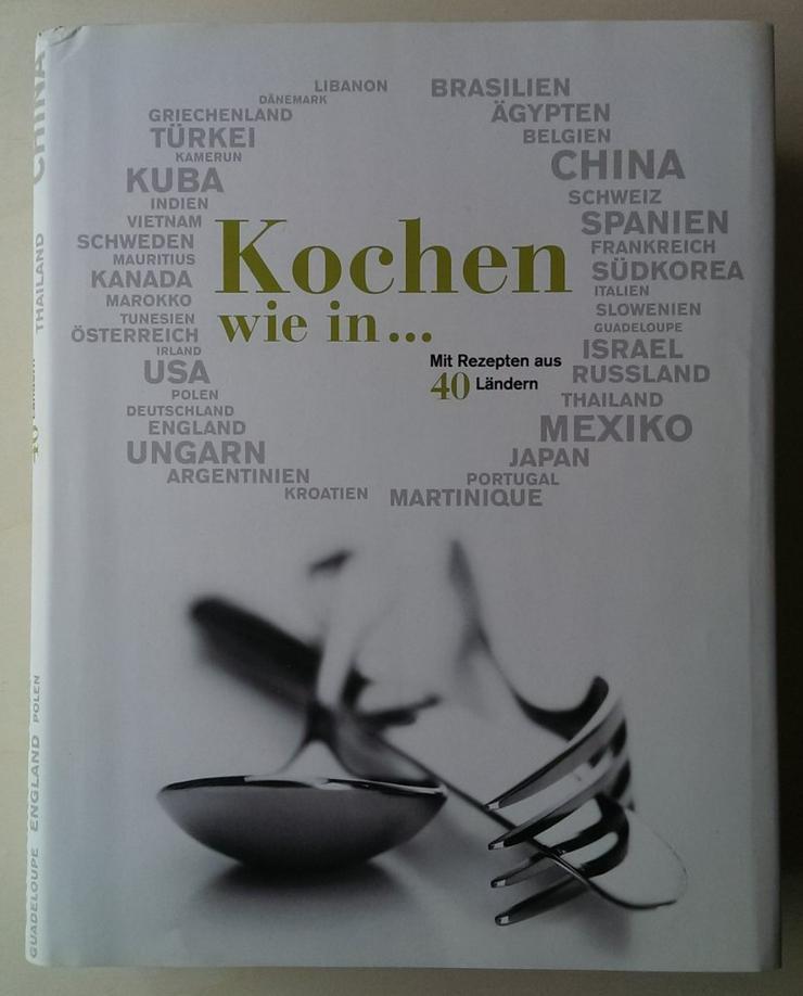 """Mega Kochbuch """"Kochen wie in"""" 500 Rezepte aus 40 Ländern in Geschenkkarton"""