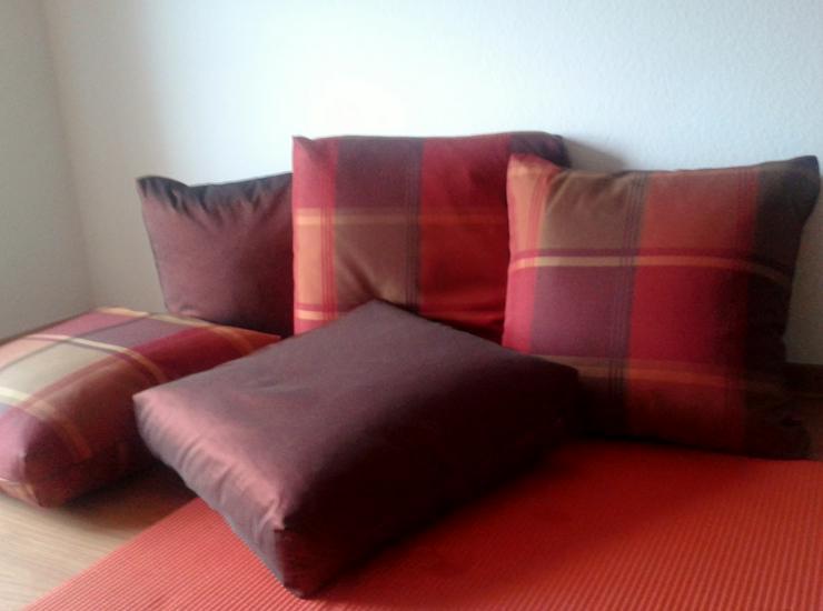 Kissen - 5 große gemütliche Boden - Sofa - Kissen