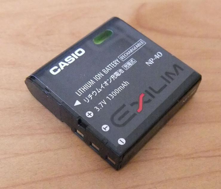 Kameraakku NP-40 von Casio