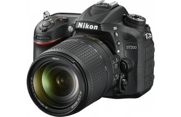 Nikon D7200 mit 3 Objektiven und viel Zubehör