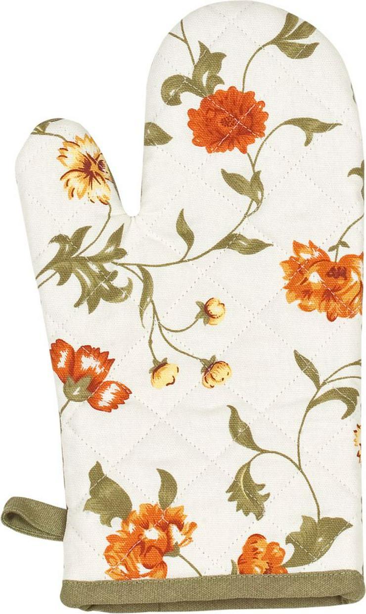 Kracht Ofenhandschuh Blumen
