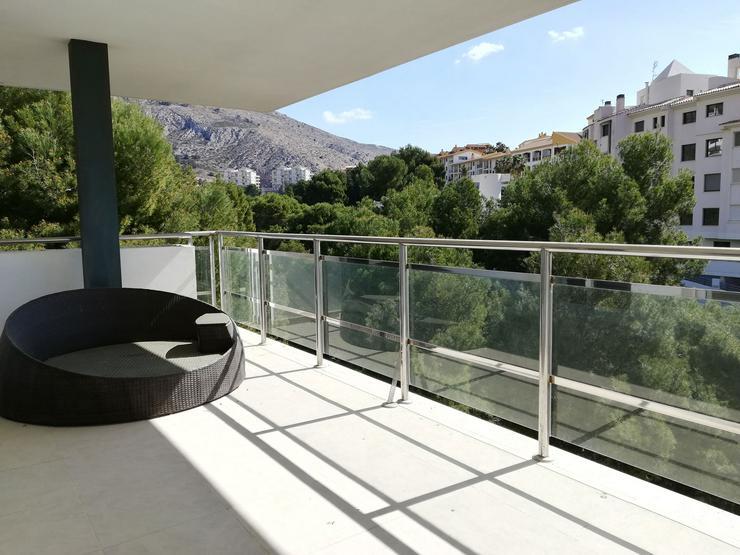 Moderne Villa am Meer in Mascarat, Altea, Spanien