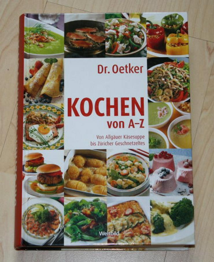 Dr. Oetker Kochen von A-Z Kochbuch Rezeptbuch 2000 Rezepte Menüs