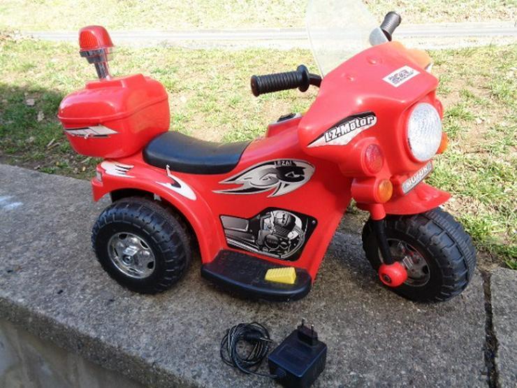 POLIZEI Elektro Motorrad Kindermotorrad Roller Kinderfahrzeug