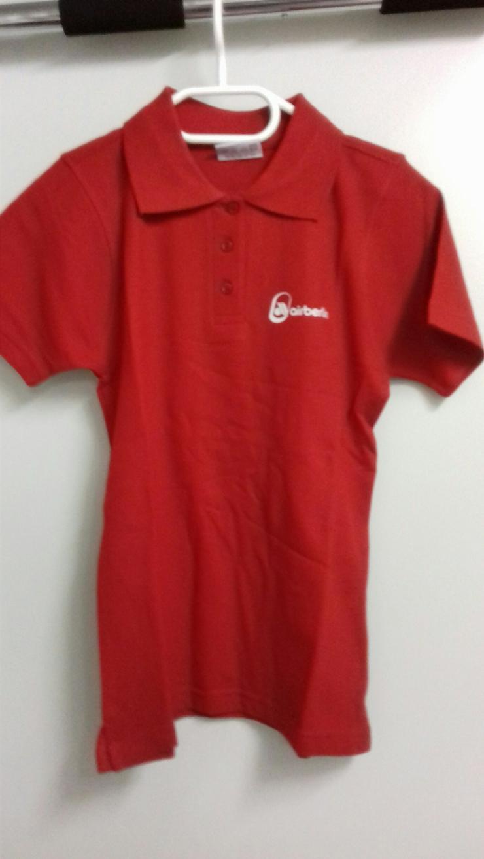 airberlin Poloshirt rot Grösse XS - Größen 32-34 / XS - Bild 1