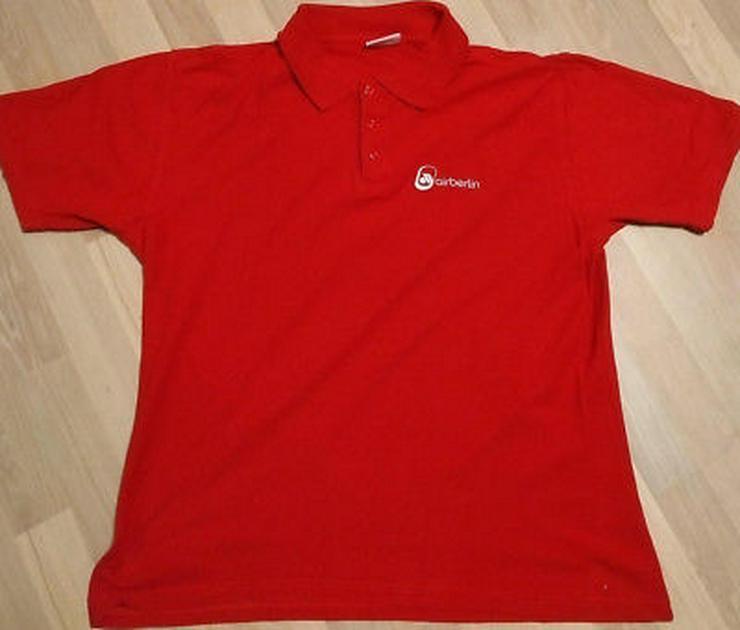 Bild 4: airberlin Poloshirt rot Grösse XS