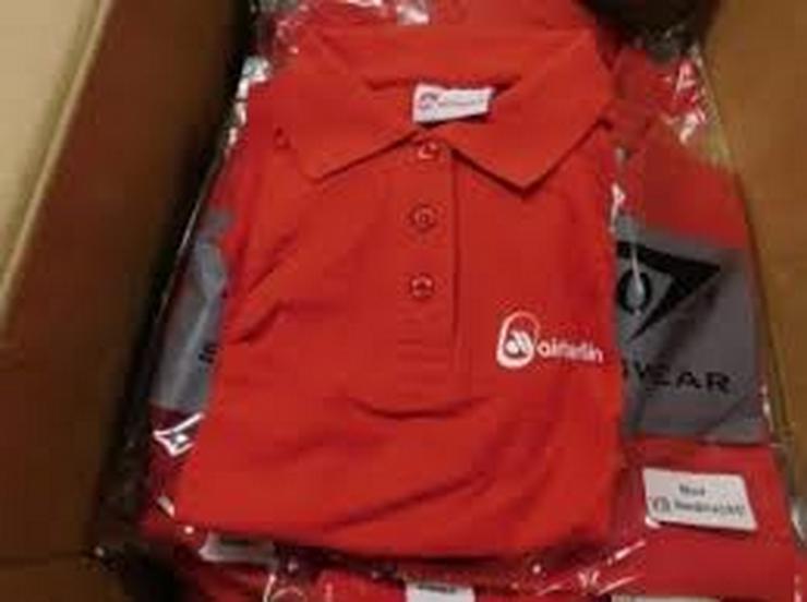 Bild 2: airberlin Poloshirt rot Grösse XS