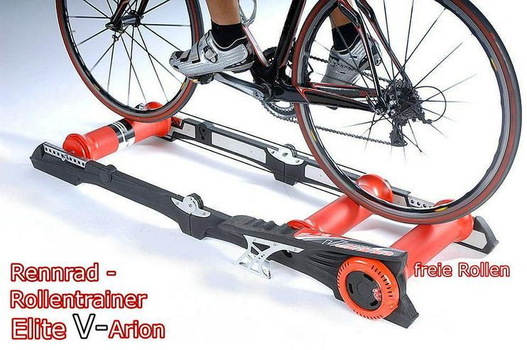 Rollentrainer f. Fahrräder-ELITE-V-Arion - neuwertig kaum benutzt