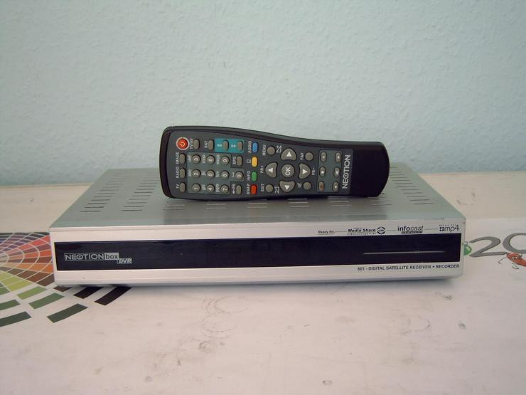 Digitaler-Satelliten-Receiver Neotionbox 601 DVR, DVB-S, 2xScart, betriebsbereit, funktionstüchtig - Weitere - Bild 1