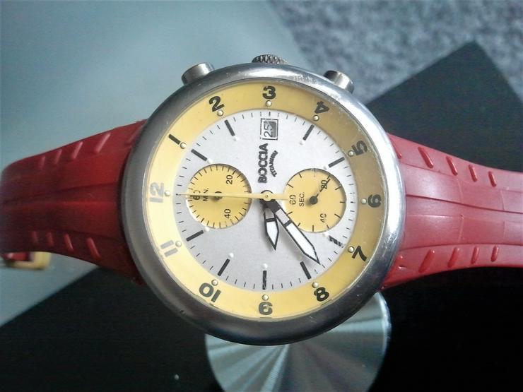 Bild 3: Boccia Titanium Chronograph