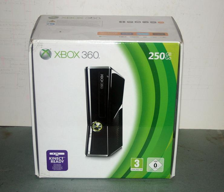 Xbox 360 - Konsole Slim 250GB schwarz in der OVP