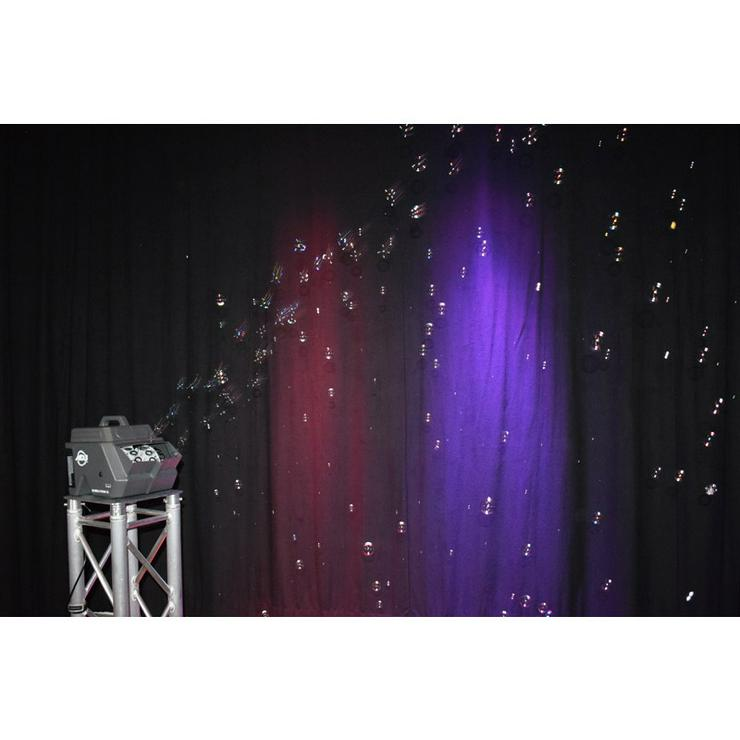 Seifenblasenmaschine BubbleTron  Seifenblasen mieten Kindergeburtstag Party