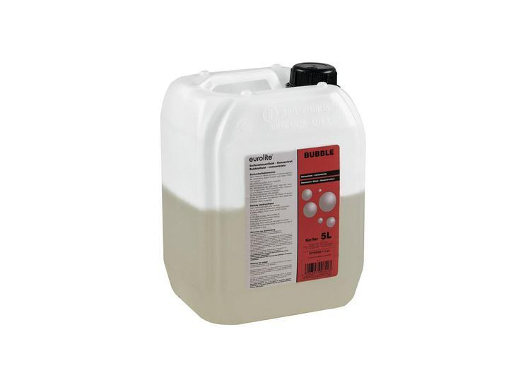 Seifenblasenfluid 5 ltr I Seifenblasenflüssigkeit für alle gängigen Maschinen