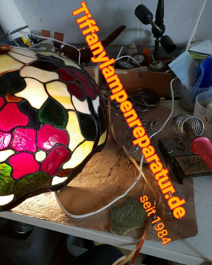 Tiffany Lampenschirm Reparatur Klinik Nrw & Glaskunst Werkstatt Mülheim & Glas Galerie an der Ruhr - Weitere - Bild 1