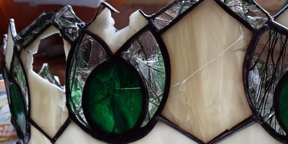 Bild 5: Tiffany Lampenschirm Reparatur Klinik Nrw & Glaskunst Werkstatt Mülheim & Glas Galerie an der Ruhr