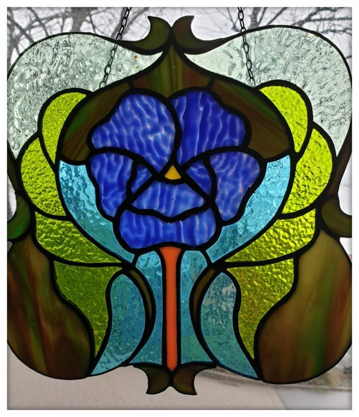 Bild 4: Tiffany Lampenschirm Reparatur Klinik Nrw & Glaskunst Werkstatt Mülheim & Glas Galerie an der Ruhr