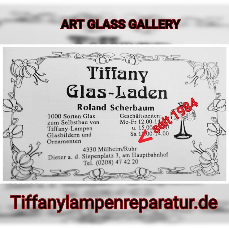 Tiffany Lampen Reparatur Klinik Nrw & Glaskunst Werkstatt Mülheim & Glas Galerie an der Ruhr