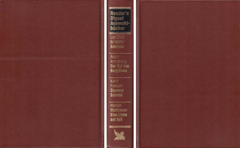 4000140 - Buch - Reader's Digest Auswahlbücher 402 (243) von 2002