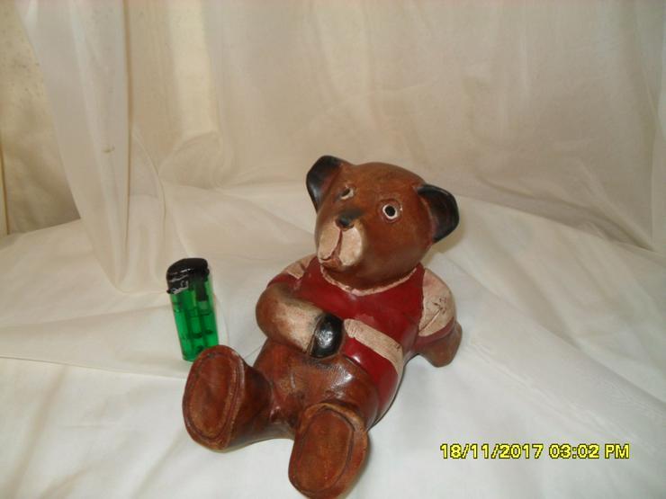 Holzfigur Bär