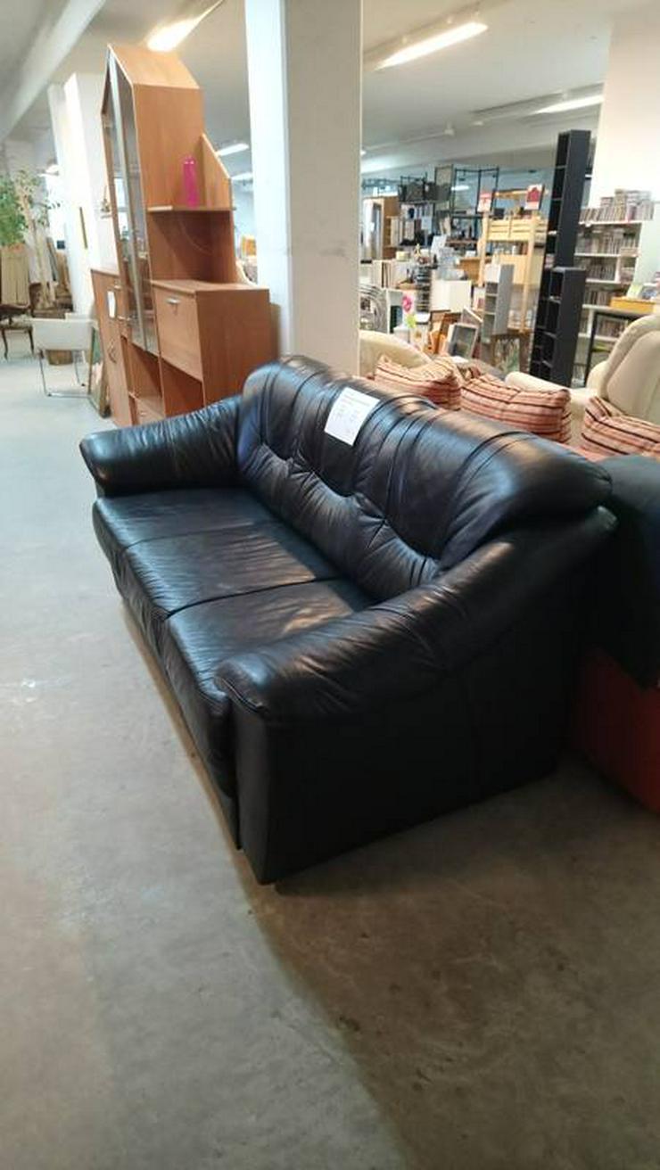 Bild 3: Ledercouch, Couch, 3-Sitzer Sofa