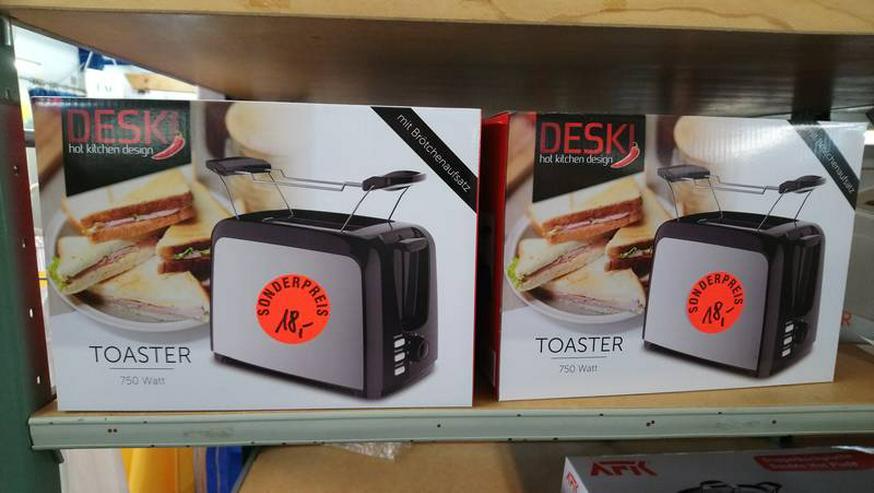 Toaster Edelstahl