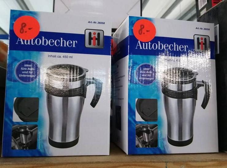 Trinkbecher Autobecher Kaffeebecher