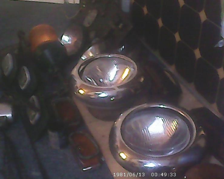Bild 6: gebr.Vorder Scheinwerfer& 2 Rückstrahler Roubor Lkw