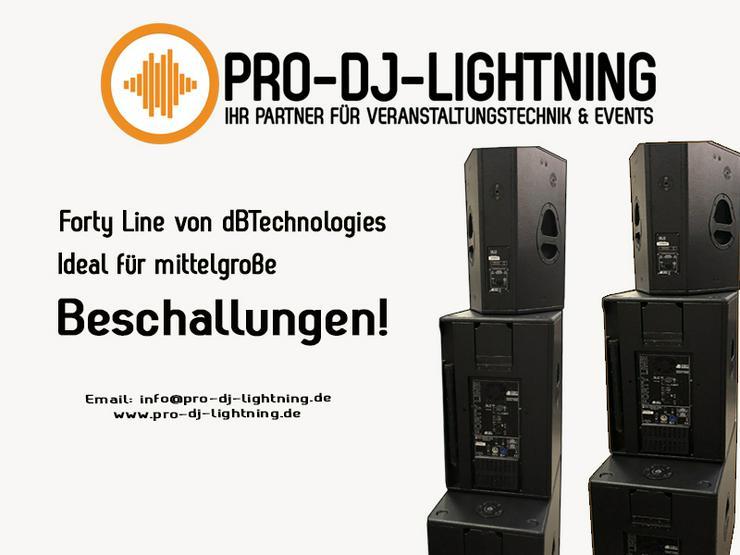 Forty Line von dBTechnologies (PA DJ Anlage, Bass, Beschallung) - Party, Events & Messen - Bild 1