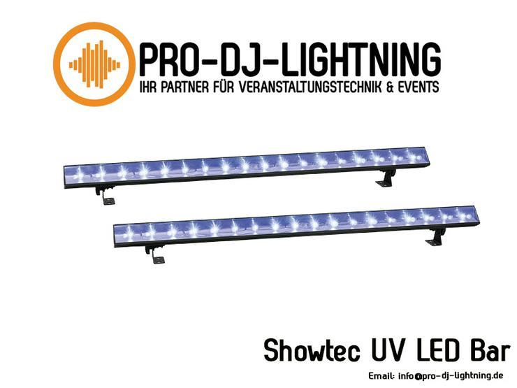 Showtec UV LED Bar 120cm - Lichteffekte - Specialeffects mieten