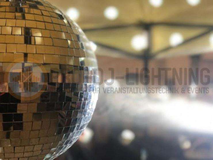 Discokugel Spiegelkugel 30cm mieten (Partybeleuchtung, Disco) - Party, Events & Messen - Bild 1