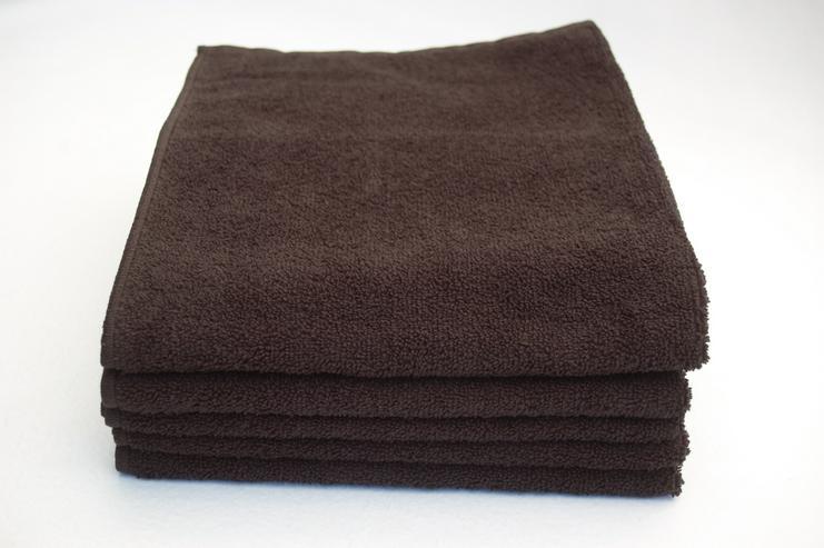Mikrofaser Handtuch 50x90 cm schwarz 5er Pack